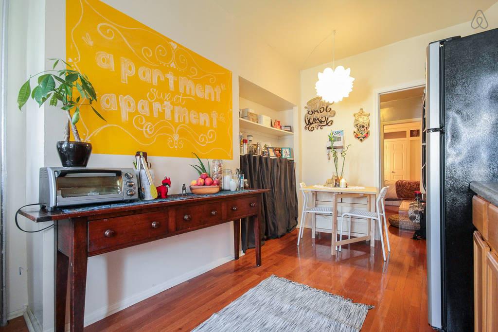 Bedroom in Brooklyn Apartment