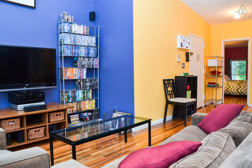 Colorful room in Brooklyn