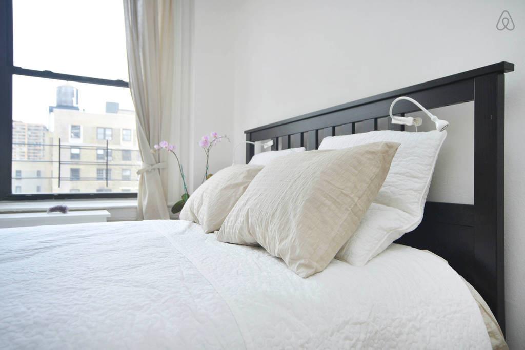 Large bedroom at Upper West Side New York