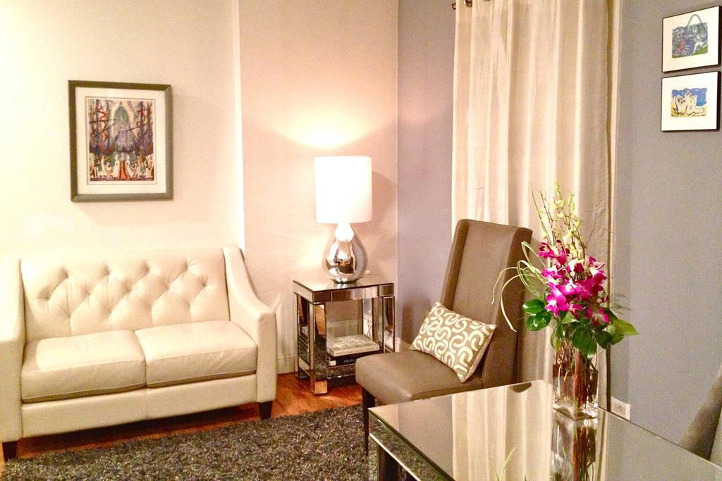 Private room in Manhattan New York