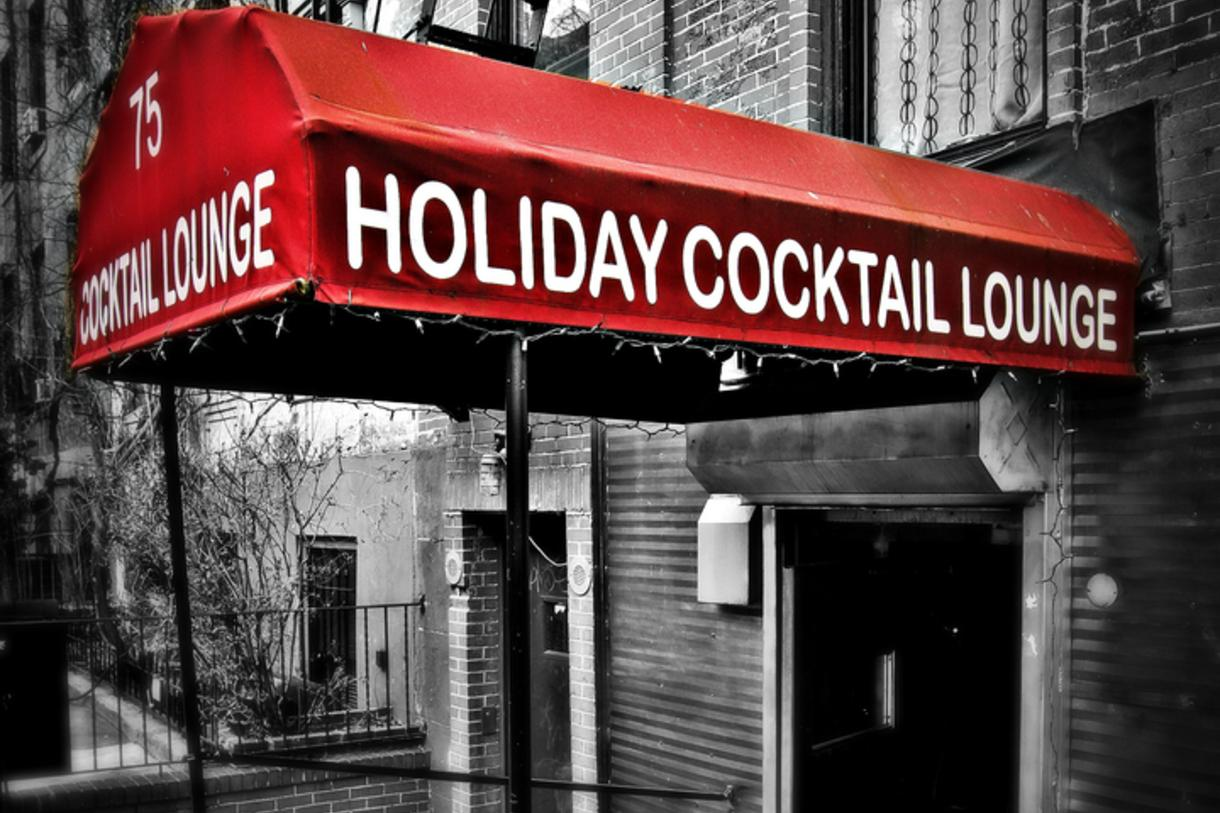 Holiday Cocktail Lounge NYC